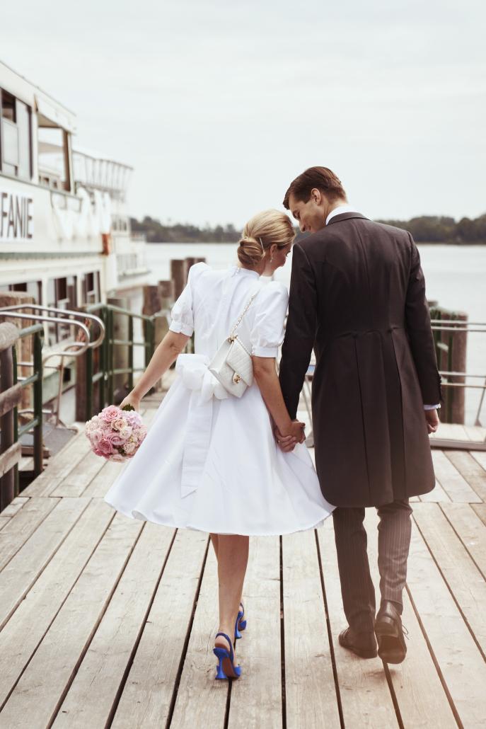 Rockabilly Hochzeit, Brautstyling Melanie Steinke