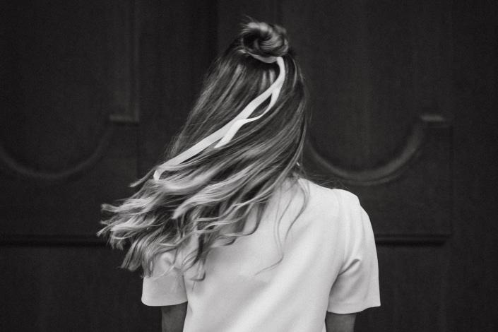 Hairstyling, Hochzeit im Boho-Stil
